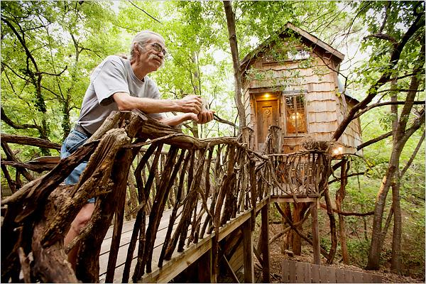 Cool Stuff Corn House Made Out Of Recycled Materials