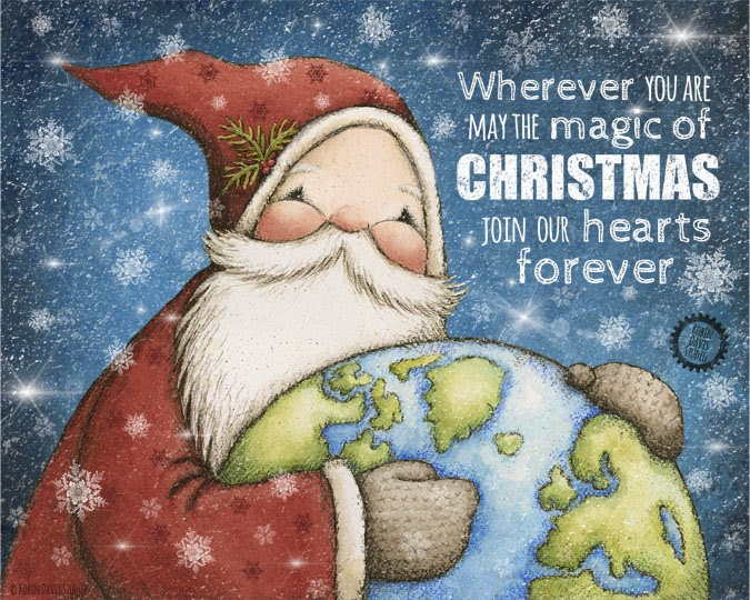 The magic of Christmas print | Robin Davis Studio