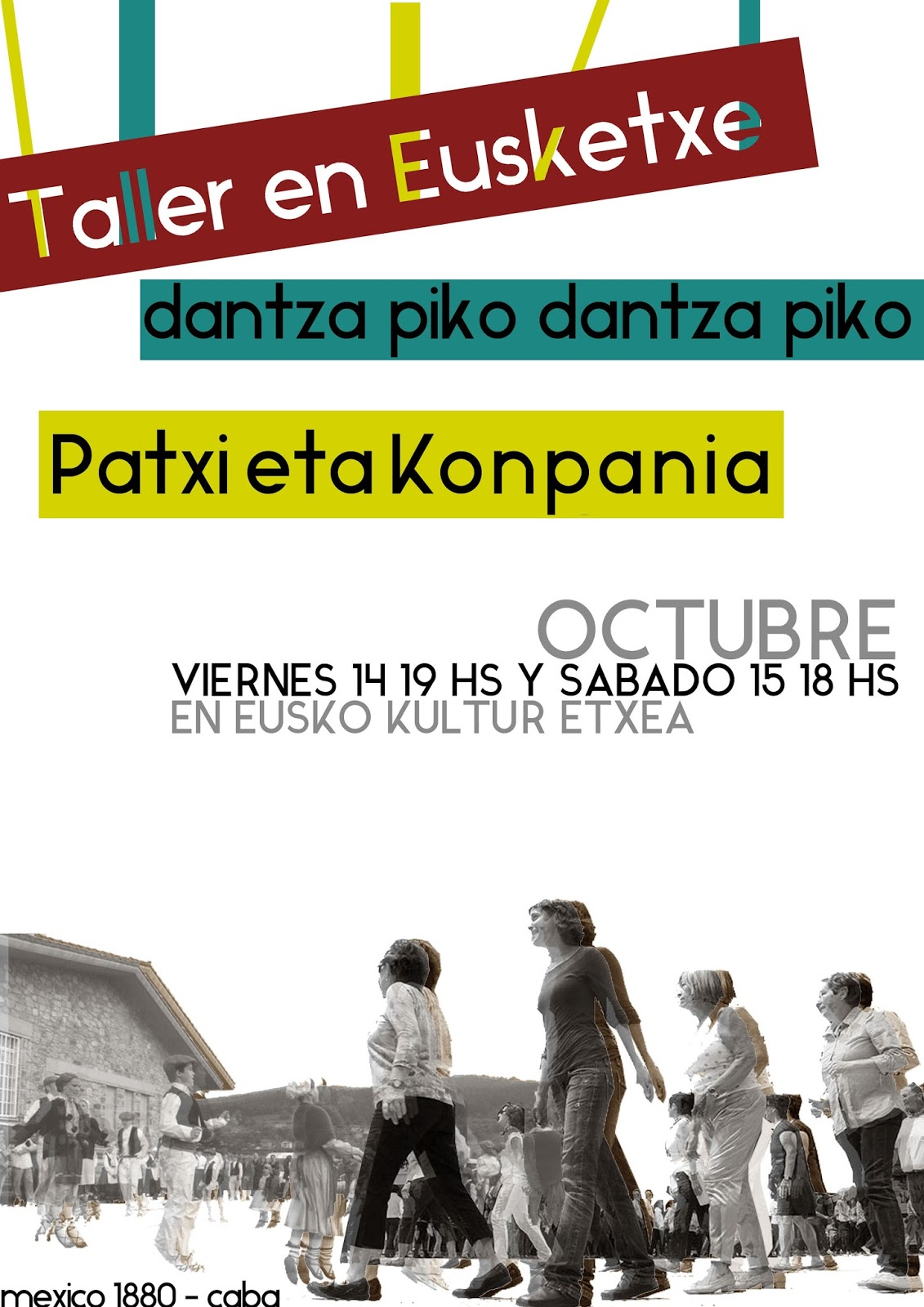 TALLER DE DANZA  DE PATXI PÉREZ  EN EUSKETXE