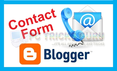Blogger Launches New Contact Form Gadget