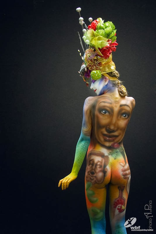 Kumpulan Foto Body Painting 18
