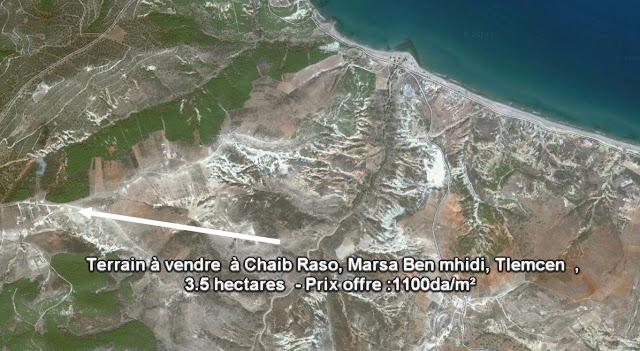 Terrain à vendre  à Chaib Raso, Marsa Ben mhidi,