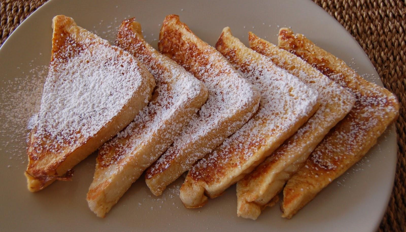 Beb sweet french toast o tostadas francesas for Entradas francesas faciles