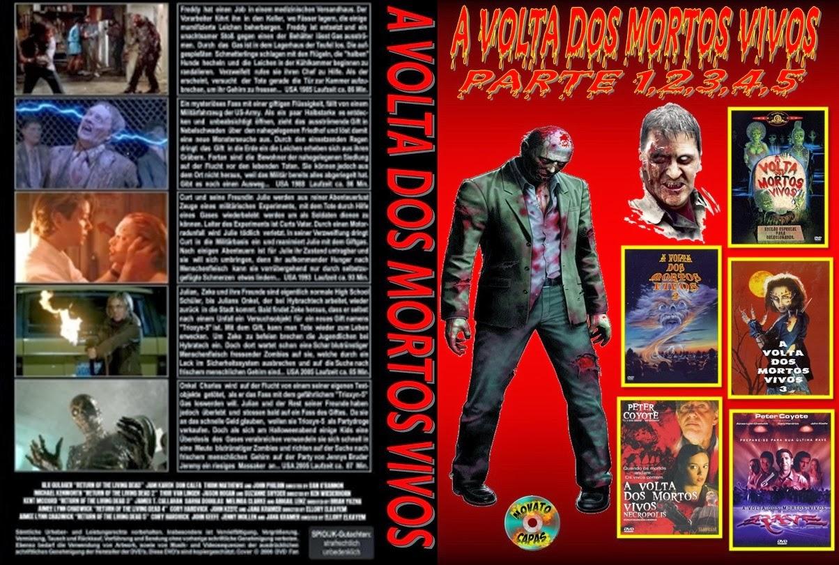 Filme Mortos Vivos for a volta dos mortos vivos 1.2.3.4.5. - isaac capas