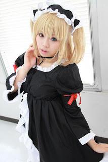 Uriu cosplay as Kobato Hasegawa from Boku wa Tomodachi ga Sukunai