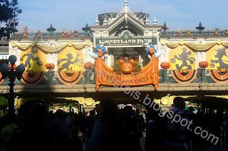 Disneyland Halloween entrée