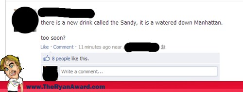 New Drink Called They Sandy