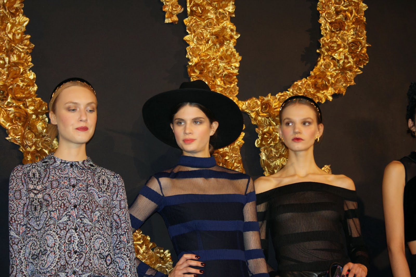 Inspection Report: Charlotte Ronson Fall / Winter 2014 Presentation