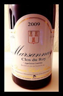 Tasting note for the 2009 Charles Audoin Marsannay Clos du Roy