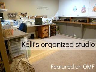 organized neat clutter free studio