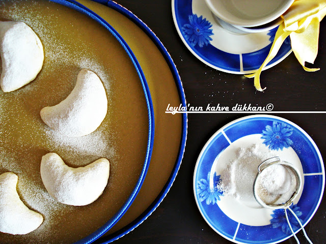 elmalı ay çöreği