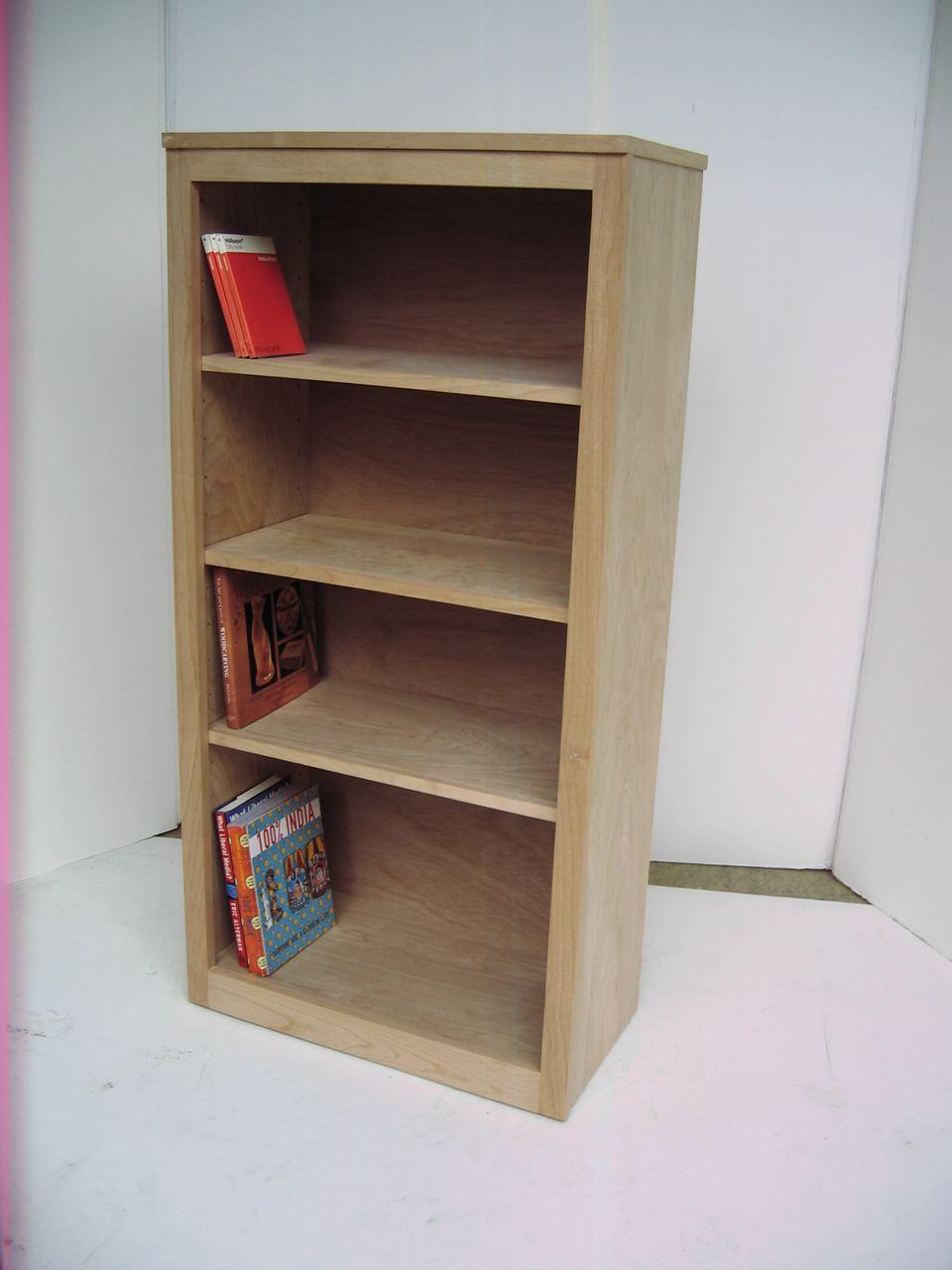 "stumasa: ""modern"" style alder wood bookcase"