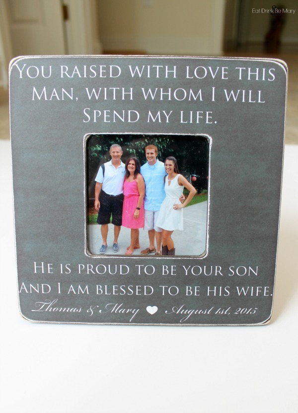 Wedding Rehearsal Gifts For Parents : ... Drink & Be Mary: Timmerman Party of 2: Parents & In-Laws Wedding ...