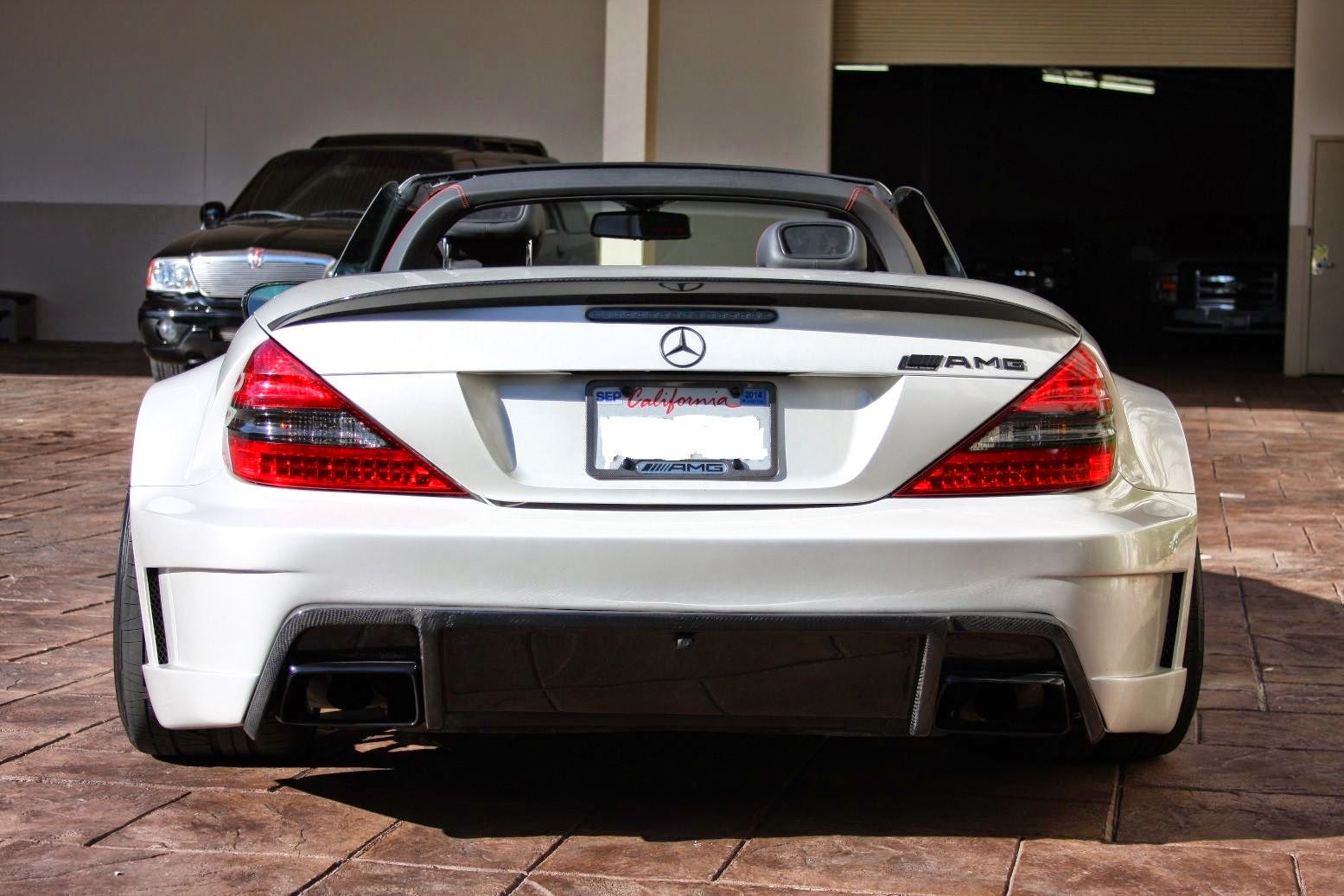 Mercedes benz r230 sl55 amg widebody benztuning for Mercedes benz sl55 amg