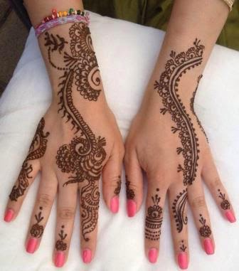 Preparation of Mehendi