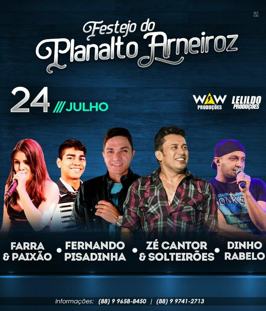 Festejos 2018 de Planalto-Arneiroz.