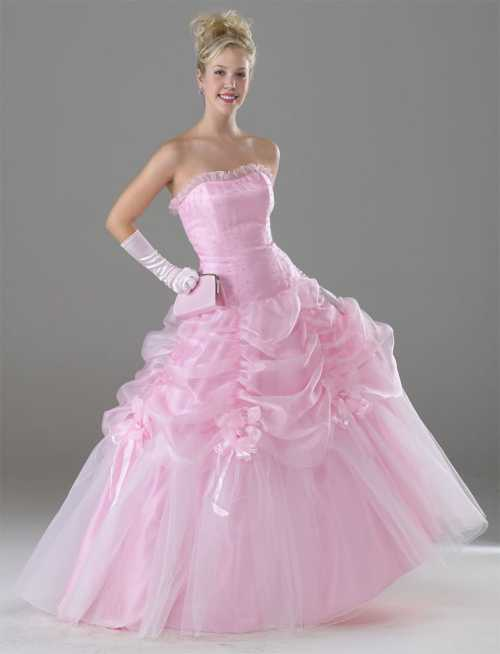 Pink Girl Beautiful Wedding And Normal Dresses Style
