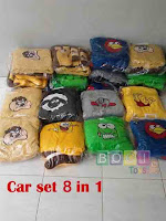 Car set 8 in 1
