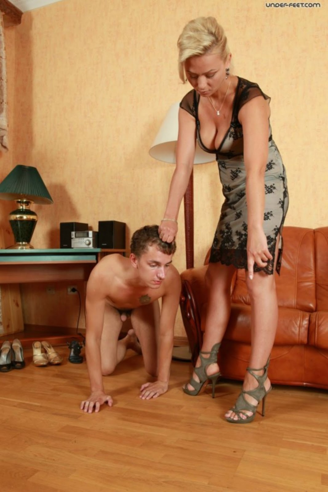 Tall lady dominates a man porn video  hentia pictures