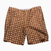 Warriors Brown Shorts