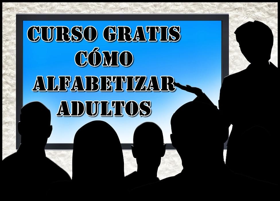 Curso Gratis Alfabetización de adultos