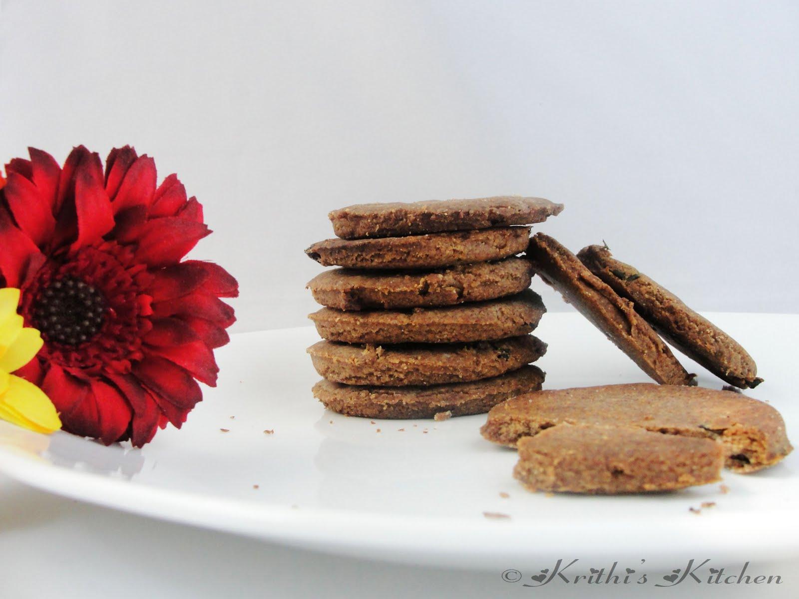 Krithi's Kitchen: Ragi Kaara Biscuits / Finger Millet Savory Cookies