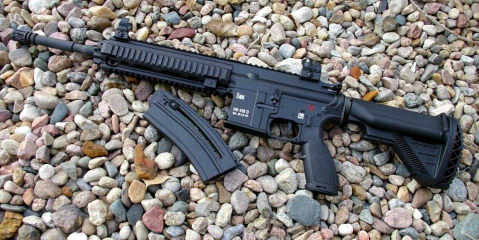 Hk 416 d145rs 22 lr ar15 rifle review