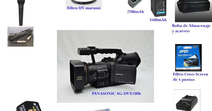 Se vende PANASONIC AG-DVX100b