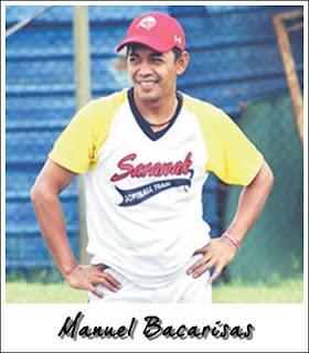Manuel Bacarisas Jurulatih Sofbol Sarawak dari Filipina