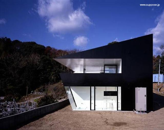 Casa contemporánea japonesa Minimalista