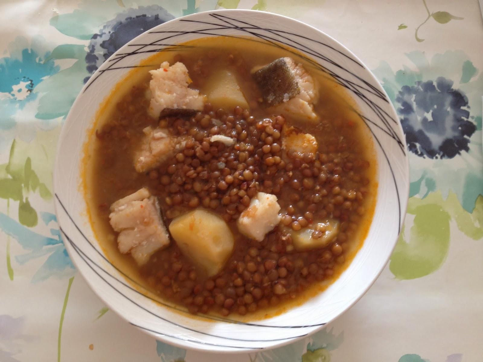 Lentejas con patata y bacalao blogs contra la fam 2013 recetas de cocina - Lentejas con costillas y patatas ...