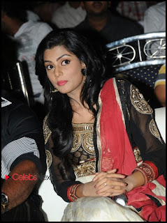 Anisha Ambrose Pictures in Salwar Kameez at Alias Janaki Movie Audio Release Function  0007