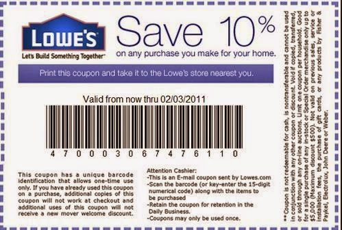 Coupons lowes home improvement coupons free printable coupons lowes