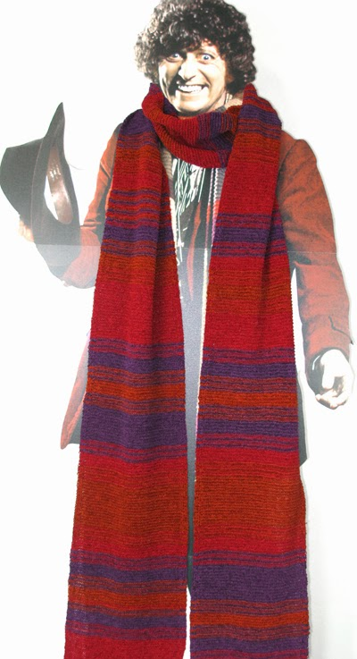 new official replica tom baker scarf launched today