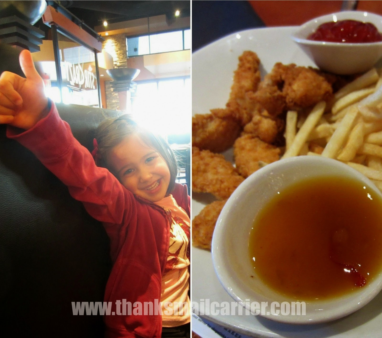 kids chicken and fries