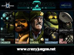 Jugar Strike Force Heroes 2 - www.crazyjuegos.net