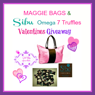 Maggie+Bags+&+Sibu+Omega+7+Truffles+Giveaway Maggie Bag & Sibu Chocolates Giveaway! (Jan. 23rd   Feb. 28th)