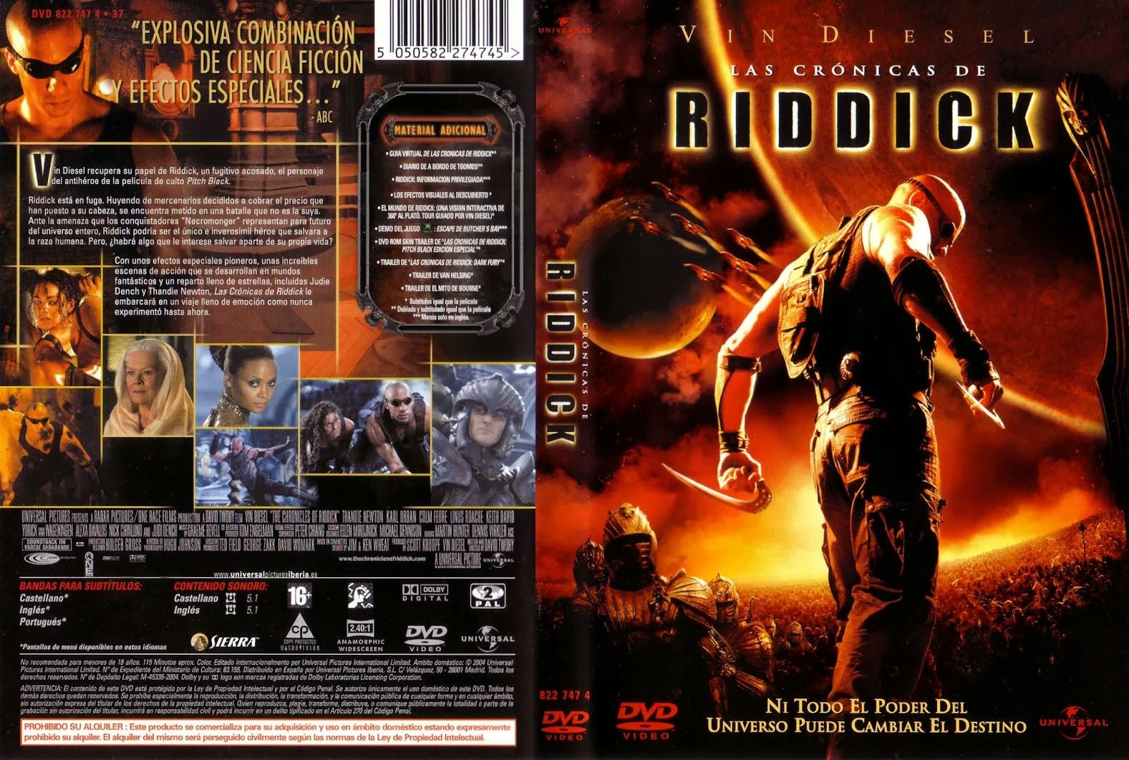 Las Cronicas De Riddick (Version Extendida) DVD