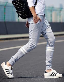 celana jogger pria