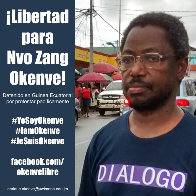 ¡Libertad para Okenve!