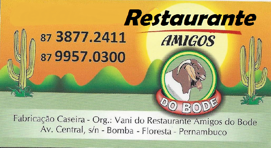 RESTAURANTE AMIGOS DO BODE