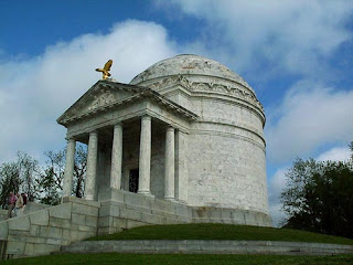 Illinois monument at Vicksburg National Military Park
