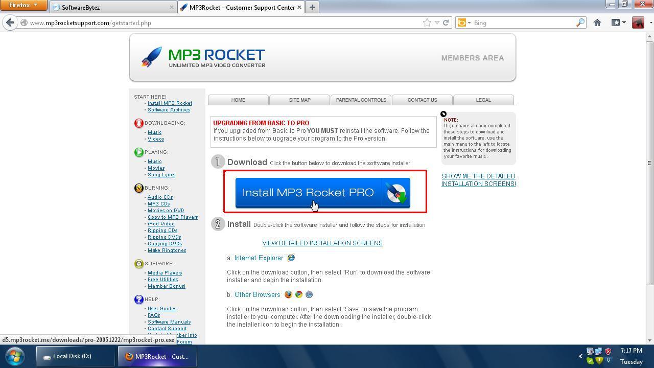 Softwarebytez mp3 rocket pro
