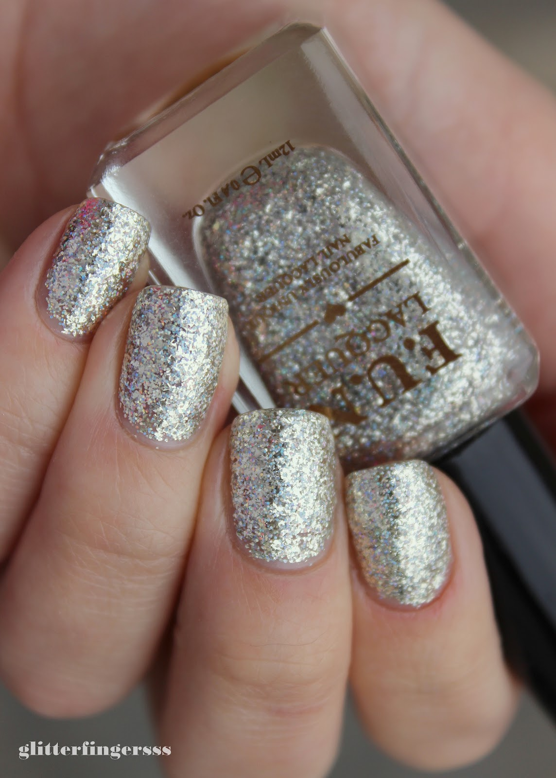 SWATCH | FUN Lacquer - Queen ~ Glitterfingersss in english