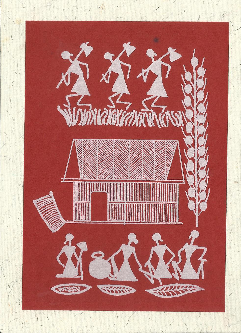 Lifestyle Art And Cultural Heritage Of Tribes Of India Warli