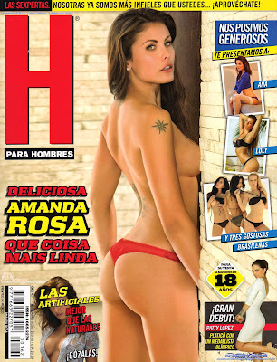 H para Hombres Mexico - November [2012] Amanda Rosa