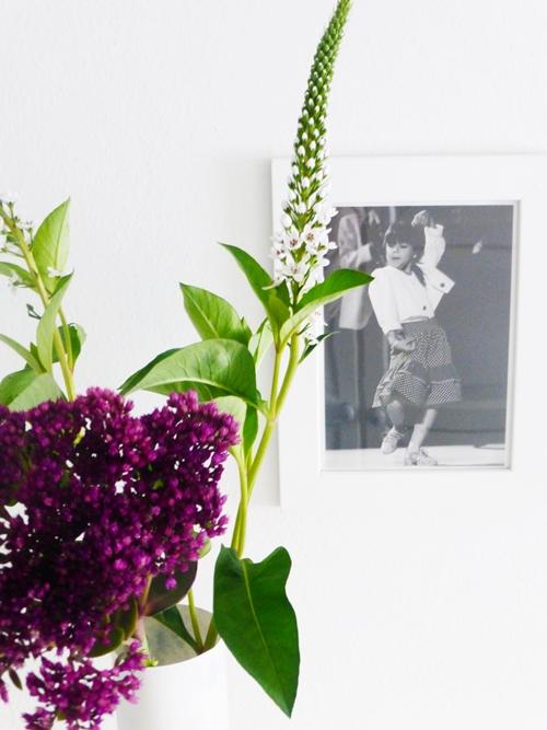 Blumen Flowers Dekoration Schneefelbrich Fette Henne Marmor