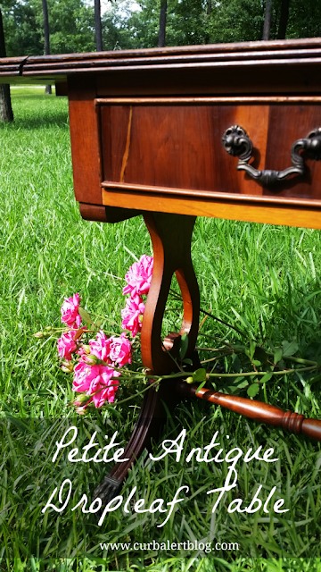 Antique Drop Leaf Table Restoration