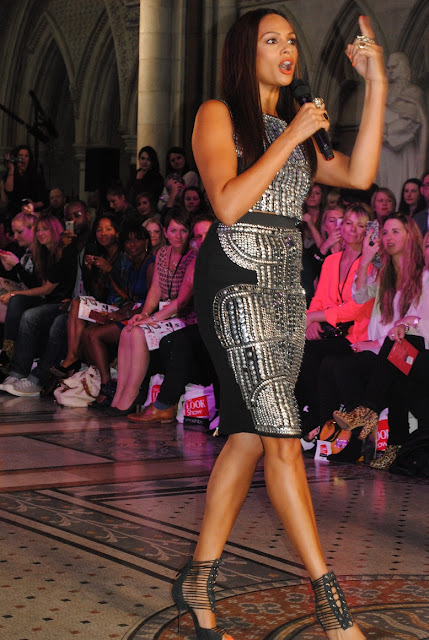 Alesha Dixon at the Look Show 2012
