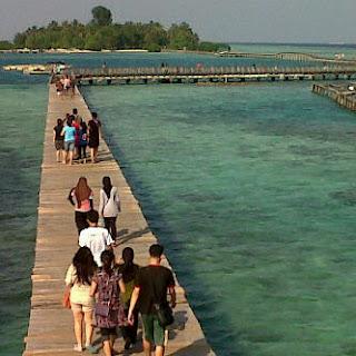 Pulau Tidung yang Terunik